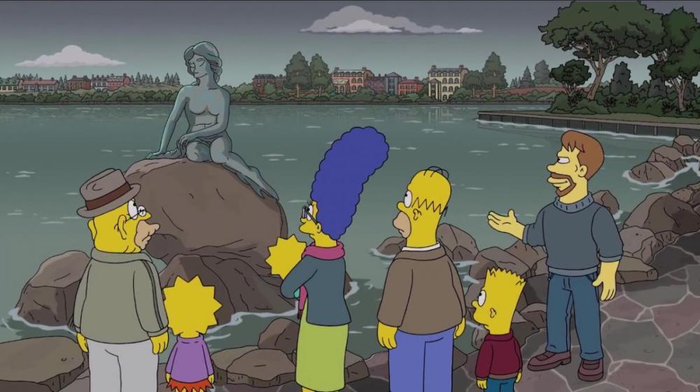 Puntata dei Simpsons a Copenhagen